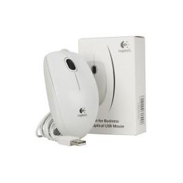 Logitech Mouse USB B100 Bianco