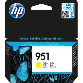 Cartuccia Inchiostro HP 951 Giallo