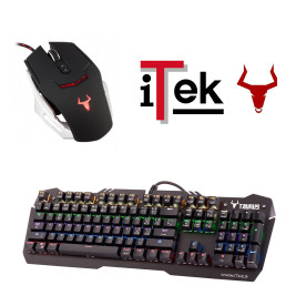 Bundle iTek Taurus – Gaming – Tastiera X06 + Mouse G78