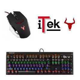 Bundle iTek Taurus – Gaming – Tastiera X21 + Mouse G78